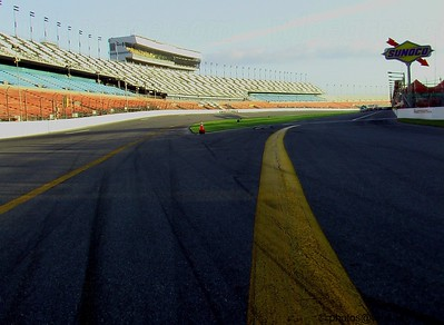 Daytona from the end of pit row.Get notifications via: