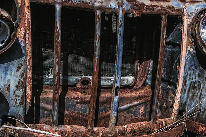 Abandoned Truck Grill