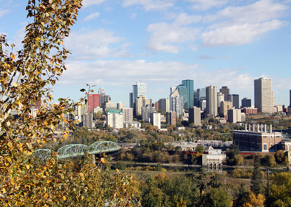 Downtown Edmonton - Fall