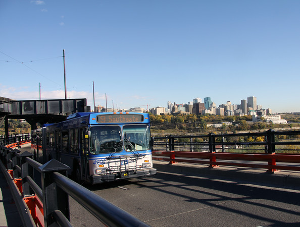 Bus on High Level Bridge