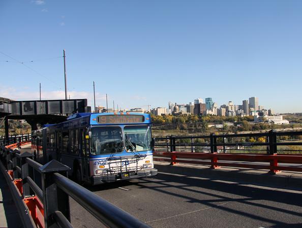 Bus on High Level Bridge