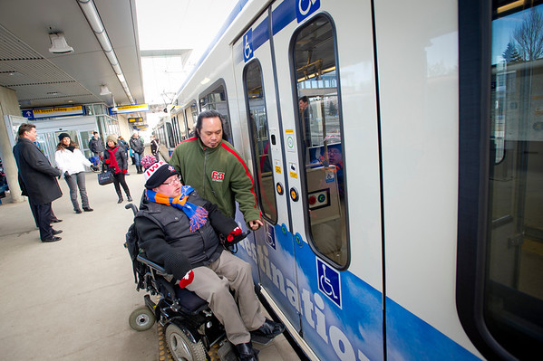 Wheelchair LRT access