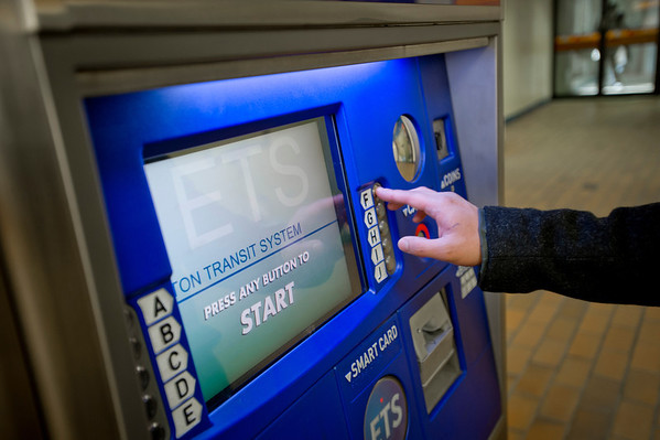 ETS Pass Purchase Kiosk