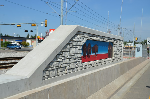 South LRT Aboriginal Art