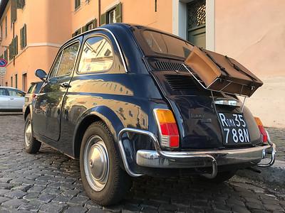Fiat 500 - Rome, Italy