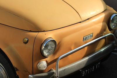 Fiat 500 Florence Italy