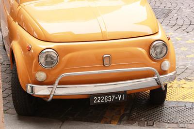 Italy, Verona, Fiat 500 Italy, Verona