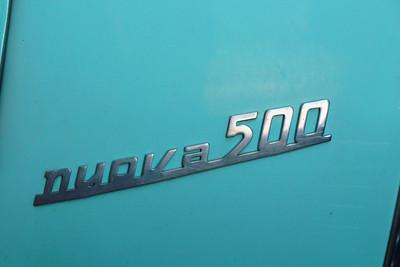 Fiat Nuova 500 Badge