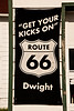 Route 66 Sign, Dwight, Illinois