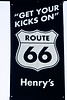 Route 66 Sign, Henry's Rabbit Ranch, Staunton, Illinois