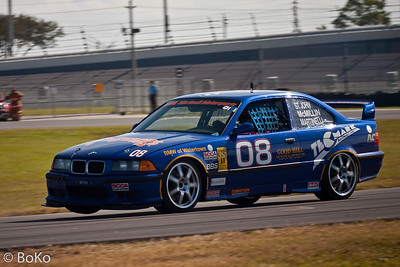Historic Racing at Daytona Speedway 2005 - BMW 320i