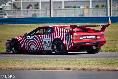 Historic Racing at Daytona Speedway 2005 - BMW M1