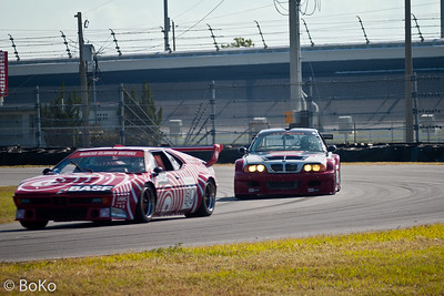 Historic Racing at Daytona Speedway 2005 - BMW M1 and M3