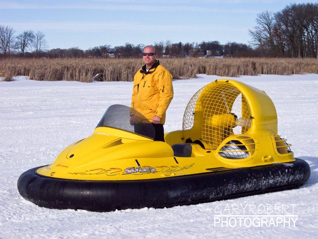 Hovercrafting on a Frozen Lake
