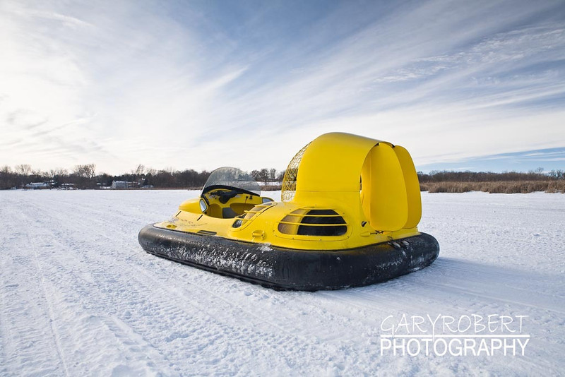 Winter Hovercrafting
