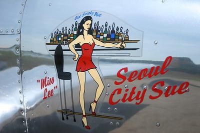 Seoul City Sue Nose Art