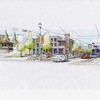 Low Floor LRT Sketching - West