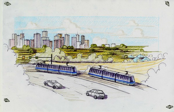 Low Floor LRT Sketching - Southeast