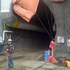 105 Avenue construction - Tunnel