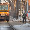 105 Street Rail Grinding
