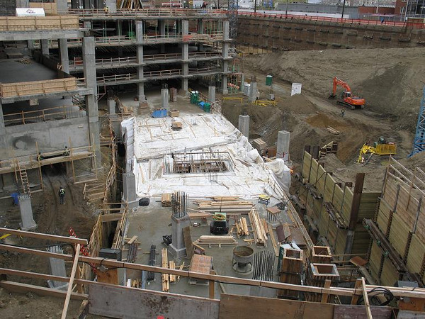 Epcor Tower construction