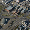 Aerial Shots of North to NAIT LRT Route - Princess Elizabeth Avenue/ 106 Street Crossing - NAIT