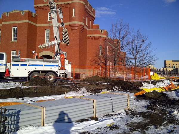 104 Street Construction