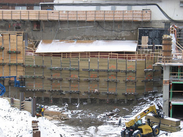 Epcor Tower Wall Construction