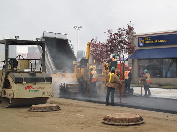 Kingsway Avenue Construction