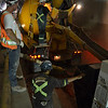 Pouring Concrete in the Tunnel