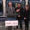 Edmonton Mayor Stephen Mandel<br /> <br /> North LRT Tunnel Breakthrough Event, November 16, 2012
