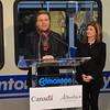 Thomas Lukaszuk, Deputy Premier Government of Alberta<br /> <br /> North LRT Tunnel Breakthrough Event, November 16, 2012