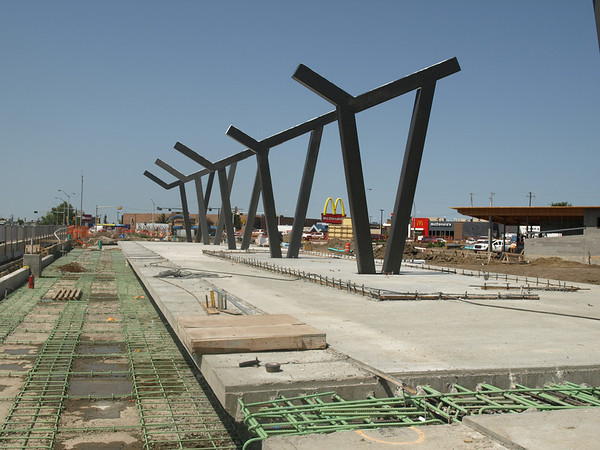 Royal Alexandra Hospital Station Construction