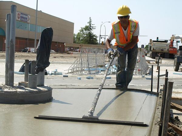 106 Street Construction