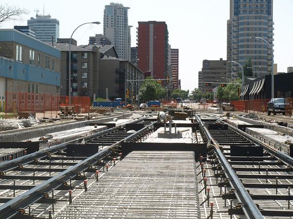 105 Street Construction