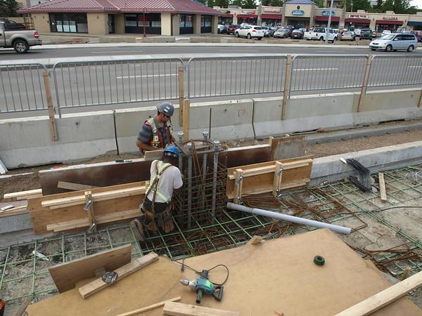 Kingsway area progress<br /> <br /> Station