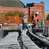 Prince of Wales Armouries/ 104 Street Construction