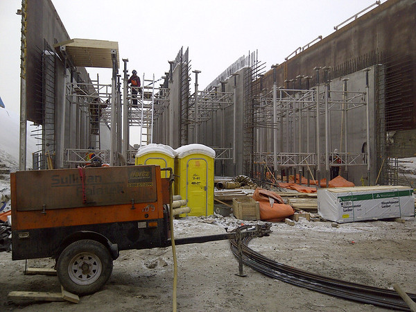 Grant MacEwan Station - 3 cell construction