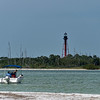 Anclote Key Lighthouse viewed from Anclote Key