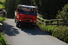 Swiss Truck in Murren