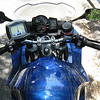 GPS installed on my bike.