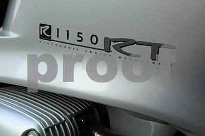2004 BMW R1150RT sport touring motocycle.