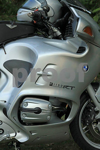 2004 BMW R1150RT sport touring motocycle.