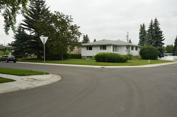 After - 71 Street & 103 Avenue, southeast & southwest corners