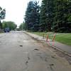 Before - Windsor Road & 119 Street, facing north