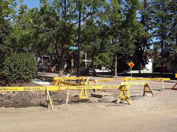 During - Northwest corner of 117 Avenue & 139 Street