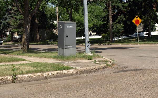 Before - Northwest corner of 117 Avenue & 139 Street