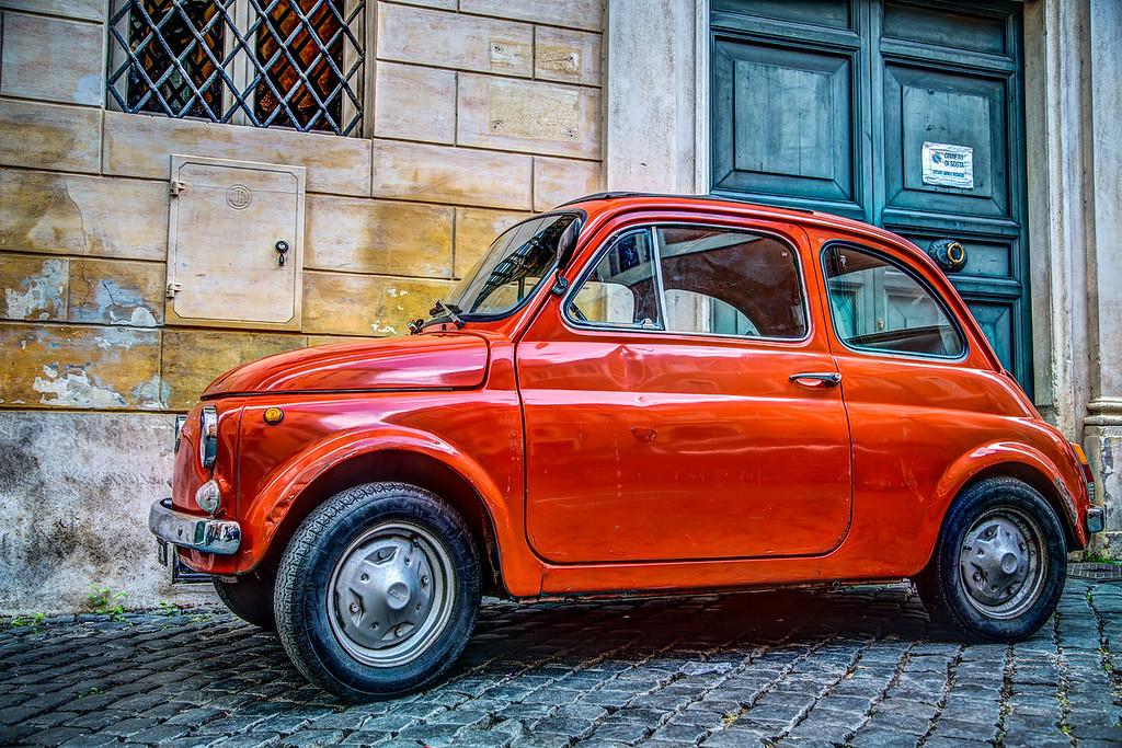 Roman Fiat 500
