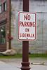 No Parking on Sidewalk, St. Louis County, Minnesota