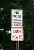 No Parking Sign, Toledo, Iowa